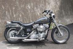 Harley Davidson News – Harley Davidson Bike Pics Amf Harley, Harley Dyna, Harley Softail, Motorcycle Paint Jobs, Bobber Motorcycle, Moto Bike, Dyna Super Glide, Harley Davidson Trike, Custom Harleys