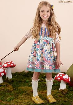Once upon a time...Fall 2016: Lunar Fable Tee, Loveliest Garden Knot Dress and Fan Knee High Socks