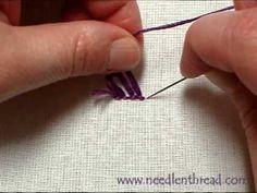 Turkey Work Hand Embroidery Stitch