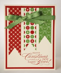 stamped christmas card ideas on pinterest | Be of Good Cheer! | The Paper Engineer