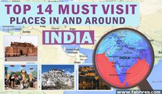 Top 14 Must Visit Places in and around India in 2015