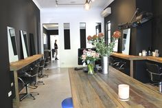 Hair Salon Fit Out by Timbermill Designs / www.timbermill.com.au