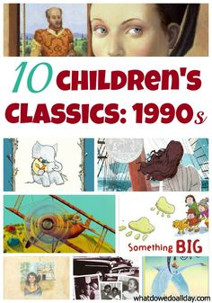 classic children's books 1990s - So excited to rediscover children's books once I have my own babies!