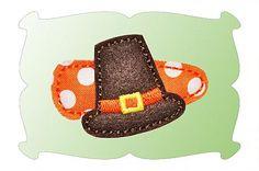 Pilgrim Hat Snap Clip