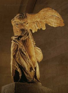 Nike of Samothrace, Goddess of Victory. One of my favorite pieces of art. I need to see this up close on day. It is so unbelievably beautiful. Nike Goddess Of Victory, Winged Victory Of Samothrace, Art Through The Ages, Greek Gods And Goddesses, Historical Art, Ancient Art, Graphic Design Illustration, Victorious, Giclee Print