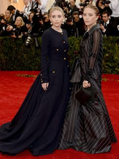 Mary-Kate and Ashley Olsen: fashion's true dynamic duo!