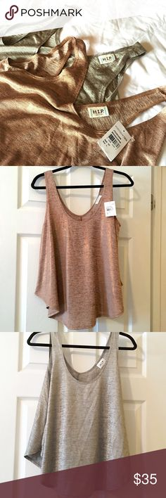 Selling this H.I.P. Copper & Silver Metallic Swing Tanks Bundle on Poshmark! My username is: carrieburke. #shopmycloset #poshmark #fashion #shopping #style #forsale #Nordstrom #Tops