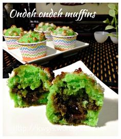 Ondeh ondeh muffins