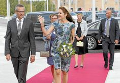 Crown Princess Mary of Denmark, as patron of the Danish Mental Health Fund, attend the opening of a new psychiatric hospital in Slagelse on August 24, 2015.
