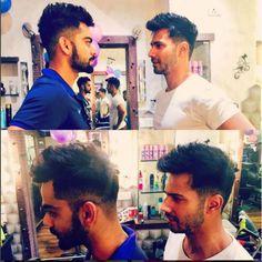 Varun Dhawan is matching his hairdo with Virat Kohli for Badrinath Ki Dulhania and we can't keep calm. http://www.glamoursaga.com/8066-2/