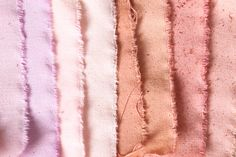 more natural dyes (including warmer/pinker tones)