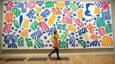 """""""The Parakeet and the Mermaid 1952"""" by Henri Matisse. Credit: PA"""