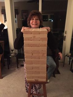 Thanks to some of our fans for sending in pics of their favorite party game!! www.tumblingtowers.com