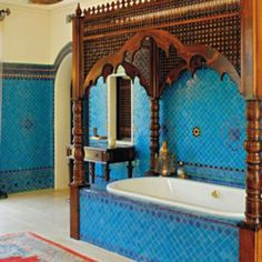 Dreamy moroccan bathroom  Ceilings are kinda high enough I could possibly do this. :)