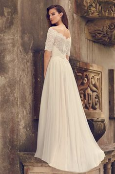 135 Best Wedding Gowns With Sleeves Images Wedding Gowns Bridal