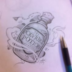 poison bottle drawing - Google Search