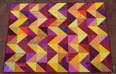 Maryandpatch, Triangle Quilt
