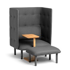 QT Privacy Lounge Chair from Poppin - Design Milk