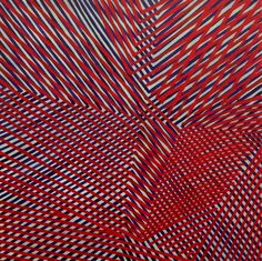 RFREDVIOLETCHICAGO, by Mel Prest at KA - BLOOM! #op_art #SF #geometry