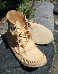Ladies Moccasins  Indian made items