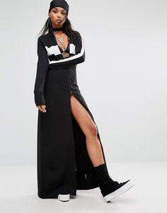 Fenty+X+Puma+By+Rihanna+High+Neck+Maxi+Dress