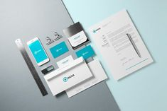 Branding / Identity Mock-up by Mint Pixels on @creativemarket