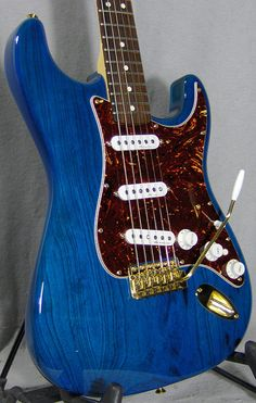 Deluxe Player's Strat, Sapphire Blue Trans - Friday #249 ~ Strat-O-Blogster Guitar Blog