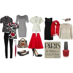 Easy Wardrobe Capsules | Paris Capsule Wardrobe, created by rhinestonesandtelephones on ...