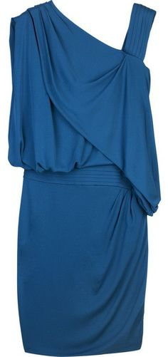 EMANUEL UNGARO | Asymmetric drape dress ($1,475)