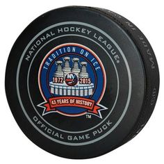 3ae6920f927 New York Islanders Tradition On Ice Game Puck