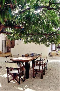 Courtyard. Lamu