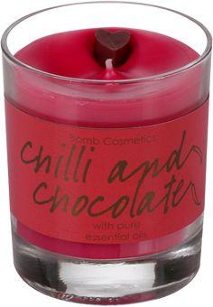 Chilli & Chocolate Glass Candle