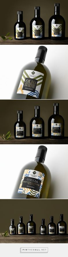 L'Olio Biologico Cuonzo #oliveoil #packaging designed by EMMECIDUE - http://www.packagingoftheworld.com/2015/06/lolio-biologico-cuonzo.html