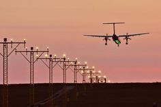 #airportgdansk #airport #airplane  #gdansk #ils #ilssystem #landing #approach / photo: Andrzej Byczkowski
