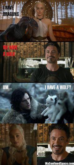 Poor Jon Snow @Leslie Murphy