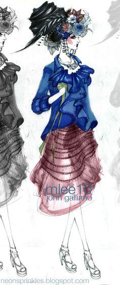 tFS Fashion illustrations
