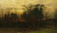 enneking artist | Forest at Twilight by John Joseph Enneking