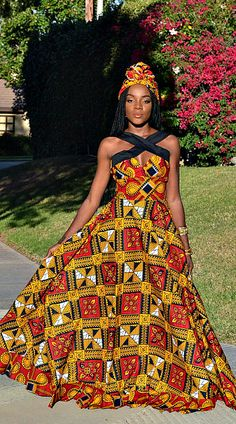 295 Best African Prom Dresses Images African Fashion