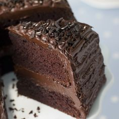A Delicious creamy recipe for double layer chocolate dream cake. This rich and moist cake is great served with ice cream.. Double Layer Chocolate Dream Cake Recipe from Grandmothers Kitchen.