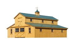 J&N Structures builds Amish built custom horse barns which include the style, size and finish that you are looking for. Click here for more information!
