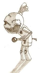 voodoo dolls drawing - Google Search