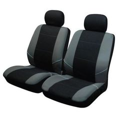 Front #black grey car seat #cover protector for seat altea s #emocion 04- s3,  View more on the LINK: 	http://www.zeppy.io/product/gb/2/151477922877/