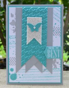 Mixing it up with Grunge and New Colours, Gorgeous Grunge, Hello Lovely, Stampin Up