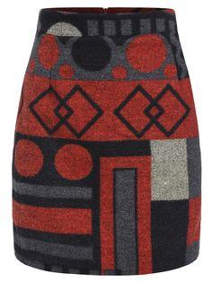 Shop Orange Geometric Patterned Zipper Bodycon Skirt online. SheIn offers Orange Geometric Patterned Zipper Bodycon Skirt & more to fit your fashionable needs.