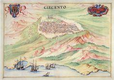Antiche mappe del territorio di Agrigento. Fotogalleria
