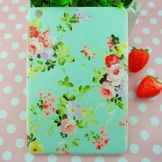 Original Brand New For iPad mini Retro CATH pastoral flowers plastic hard matte cover case, Free dropshipping $8.80