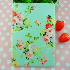 Original Brand New For iPad mini Retro CATH pastoral flowers plastic hard matte cover case, Free dropshipping $8.80