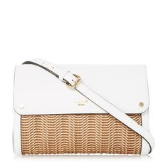 Dune Elberta Raffia Clutch In White-synthetic Clutch Bag, Leather Clutch, Dune, Shoes Online, Shoulder Strap, Accessories, Hand Bags, London, Holidays