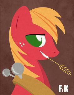 Big Macintosh Portraiture by FluttershytheKind on deviantART Best Cartoons Ever, Cool Cartoons, Mlp My Little Pony, My Little Pony Friendship, Big Macintosh, Mlp Characters, Mlp Fan Art, Mlp Comics, Fluttershy