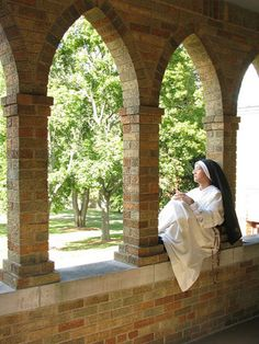 The peace of contemplative life (Dominican Nuns of Summit, NJ)